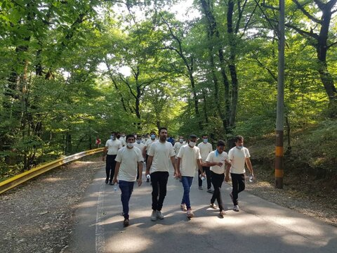 گزارش تصویری   پیادهروی همگانی به مناسبت هفته جهانی مبارزه با مواد مخدر
