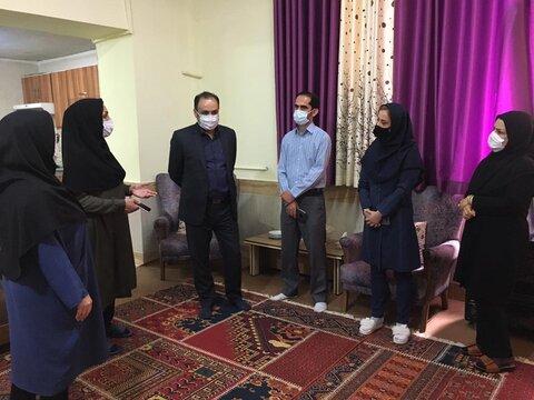 بازدید سرزده مدیرکل بهزیستی استان از مراکز حوزه آسیبهای اجتماعی