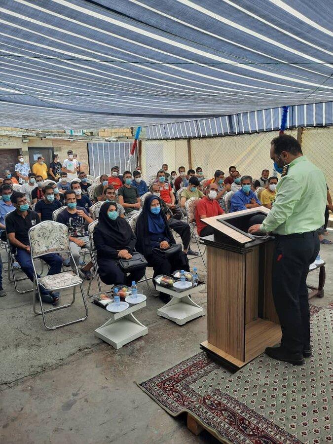 شهرقدس| برگزاری همایش به مناسبت هفته مبارزه با مواد مخدر
