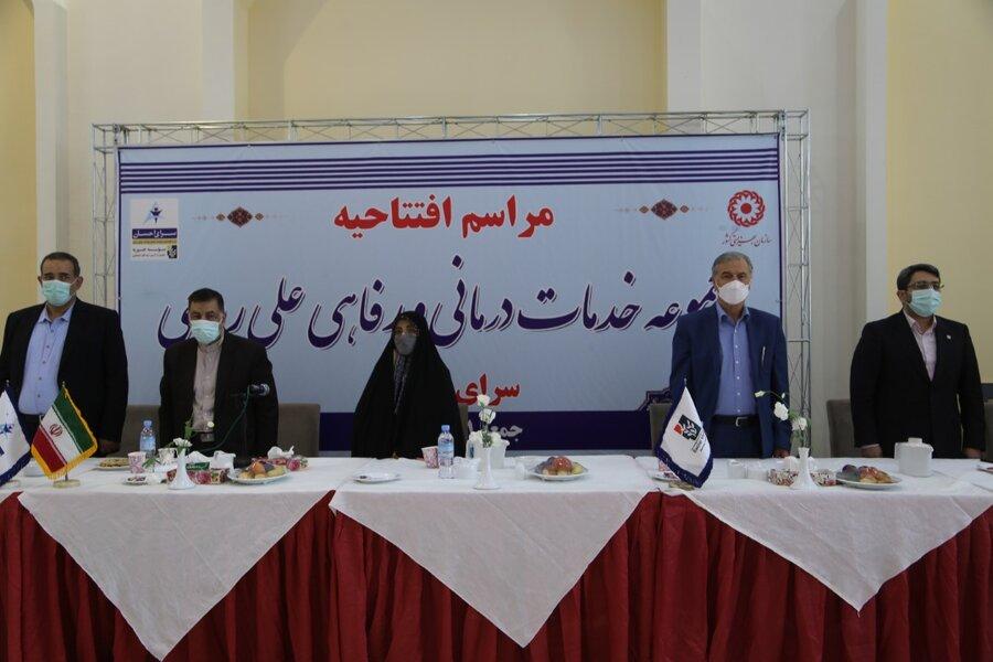 حضور وزیر دادگستری و رئیس سازمان بهزیستی کشور در آئین افتتاح مجموعه های جدید رفاهی و درمانی سرای احسان