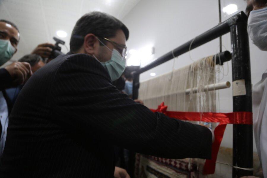 حضور رئیس سازمان بهزیستی کشور در آئین افتتاح مجموعه های جدید رفاهی و درمانی سرای احسان