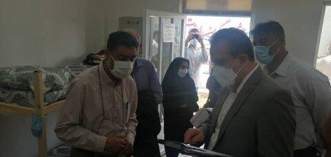 بازدید معاون پیشگیری و درمان اعتیاد بهزیستی کشور از مرکز زخم باز احسان
