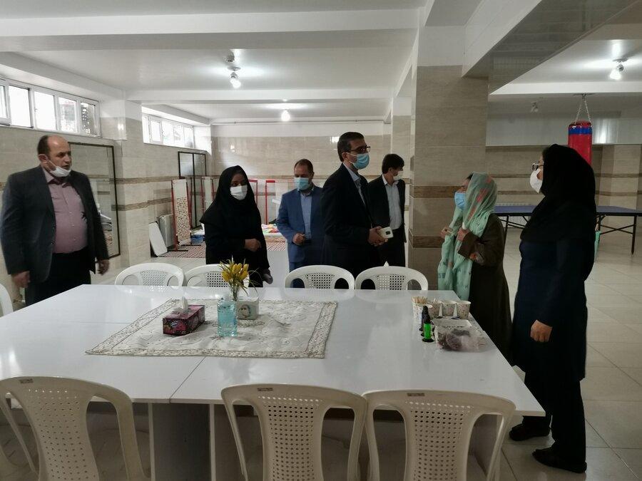 بازدید مدیرکل امور کودکان و نوجوانان سازمان بهزیستی کشور از مراکز نگهداری فرزندان شبه خانواده جنوب آذربایجان غربی