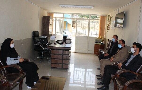 سمیرم| دیدار منتخبین شورای شهر از اداره بهزیستی