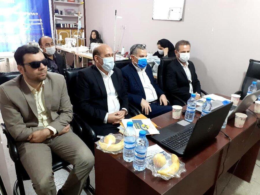افتتاح  دو طرح اشتغالزایی در شهرستان خرم آباد و پلدختر