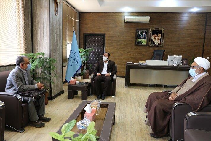دیدار با رئیس کل دادگستری استان