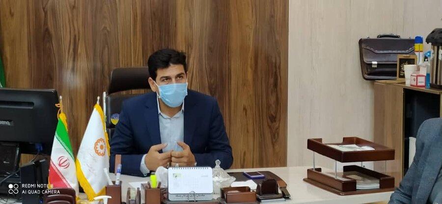 گزارش تصویری دیدار مدیرکل بهزیستی خراسان شمالی با کارکنان