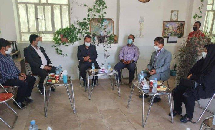 تفت   بازدید مسئولین شهرستان از کمپ ترک اعتیاد شاداب