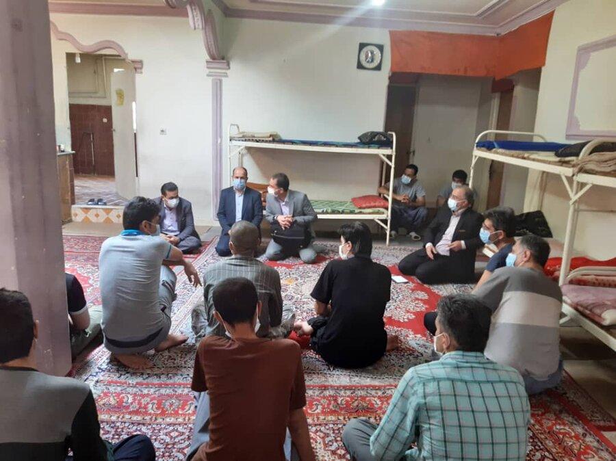 جلسه با مسئولین مراکز اقامتی میان مدت