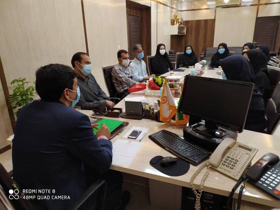 گزارش تصویری/ دیدار مدیرکل با معاونت و کارشناسان توانبخشی