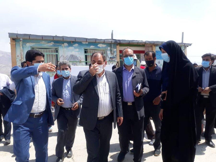بازدید میدانی نماینده مجلس از منطقه زلزله زده شوقان
