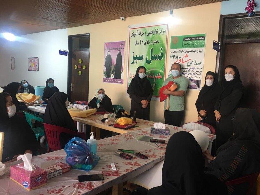 برگزاری سومین ورک شاپ ساخت عروسک نمایشی درلاهیجان
