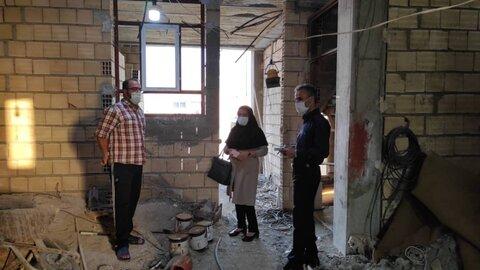 گزارش تصویری|بازدید میدانی از منزل مددجویان و معلولین واجد شرایط ساخت مسکن در منطقه ویژه خارگ