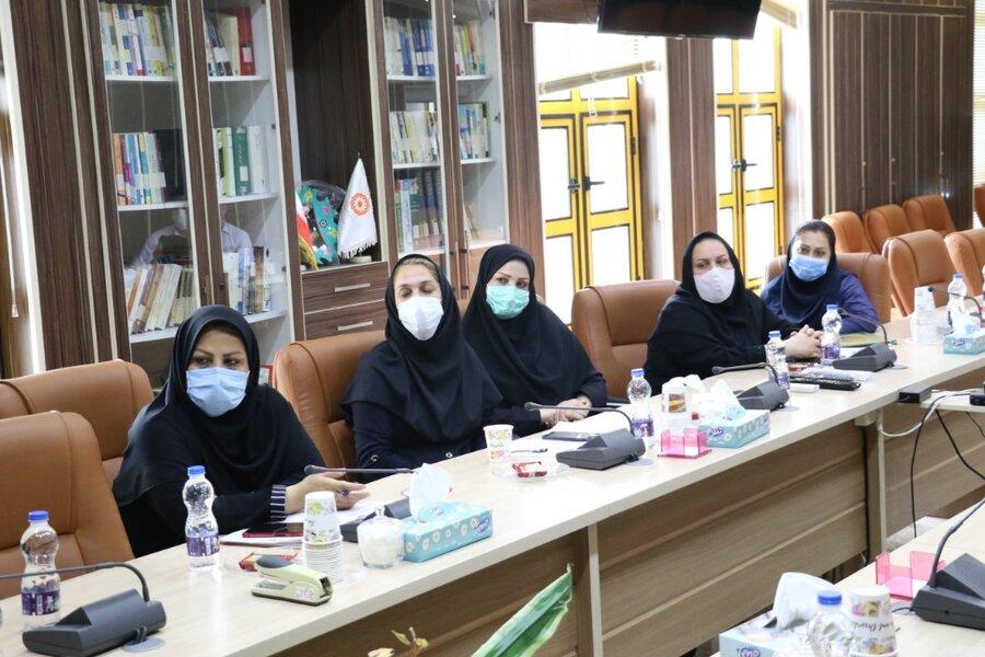 نشست معاون توسعه پیشگیری در خصوص دستور کار مرکز صدای مشاور (۱۴۸۰)