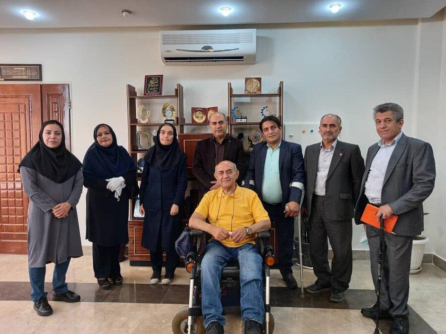اشتغال افراد دارای معلولیت دغدغه و اولویت مدیریت استان است