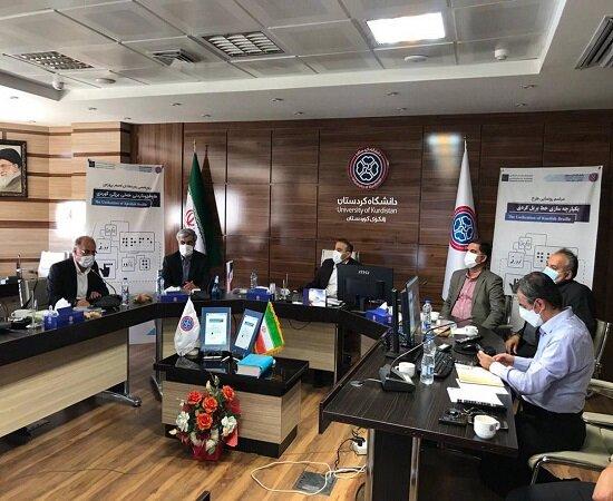 طرح یکپارچهسازی خط بریل کُردی در دانشگاه کردستان رونمایی شد