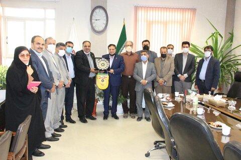 دیدار مدیرعامل باشگاه فرهنگی- ورزشی سپاهان با مدیرکل بهزیستی استان اصفهان