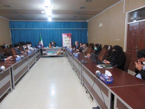 گزارش تصویری/ نشست کمیته مناسب سازی و شورای سالمندان بستان آباد