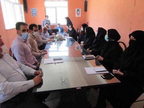 گزارش تصویری/ نشست شورای اداری بهزیستی بستان آباد