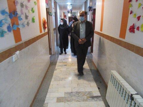 گزارش تصویری/ بازدید از مرکز معلولین ذهنی امام حسین (ع) بستان آباد