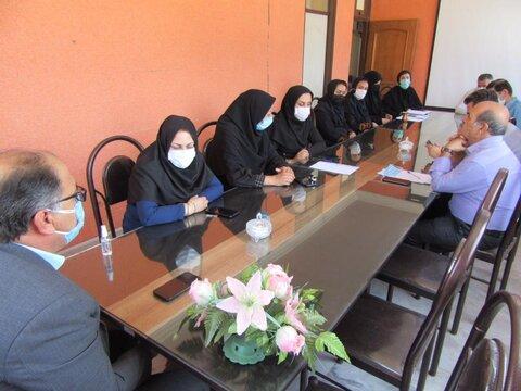 گزارش تصویری/ دیدار و گفتگو با کارکنان بهزیستی بستان آباد