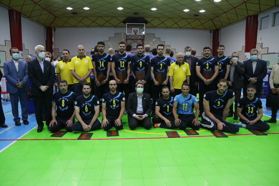 Head of SWO paid a visit with some disabled athletes
