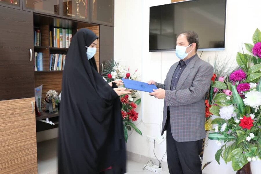 برگزاری جلسه گرامیداشت هفته عفاف و حجاب در بهزیستی آذربایجان غربی