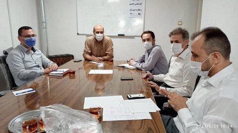 گزارش تصویری/ برگزاری جلسه کمیته کارشناسی و راهبری مناسب سازی جلفا