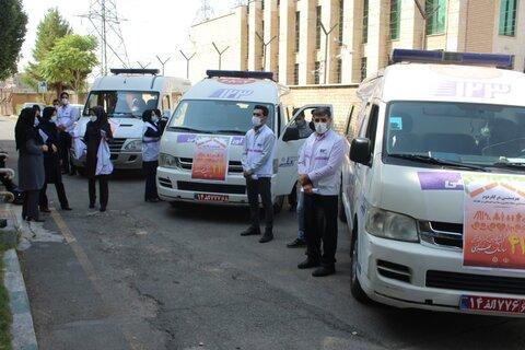 گزارش تصویری   مانور اورژانس اجتماعی در سطح استان البرز برگزار شد