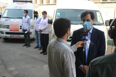 گزارش تصویری | مانور اورژانس اجتماعی در سطح استان البرز برگزار شد