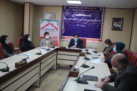 گزارش تصویری | نشست خبری مدیرکل بهزیستی البرز و اصحاب رسانه برگزار شد