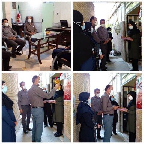 اسدآباد ا نواختن زنگ آغاز هفته بهزیستی در مرکز مثبت زندگی کد ۴۱۱۵ شهرستان