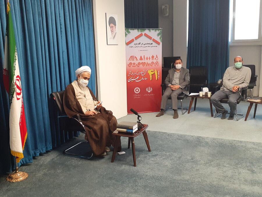 فیلم   انعکاس خبر دیدارمدیران بهزیستی با نماینده ولی فقیه در استان از صدا و سیمای مرکز قزوین