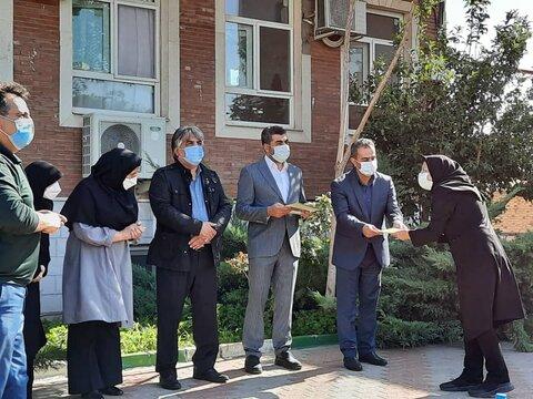 گزارش تصویری/ تجلیل از مربیان شیر خوارگاه تبریز