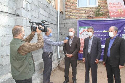 گزارش تصویری ا افتتاح 37 واحد مسکونی همزمان با بهزیستی سراسر