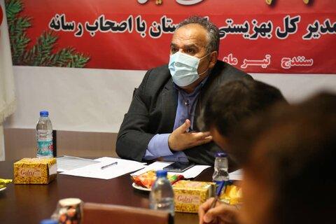 گزارش تصویری/ نشست خبری مدیرکل بهزیستی استان کردستان با اصحاب رسانه