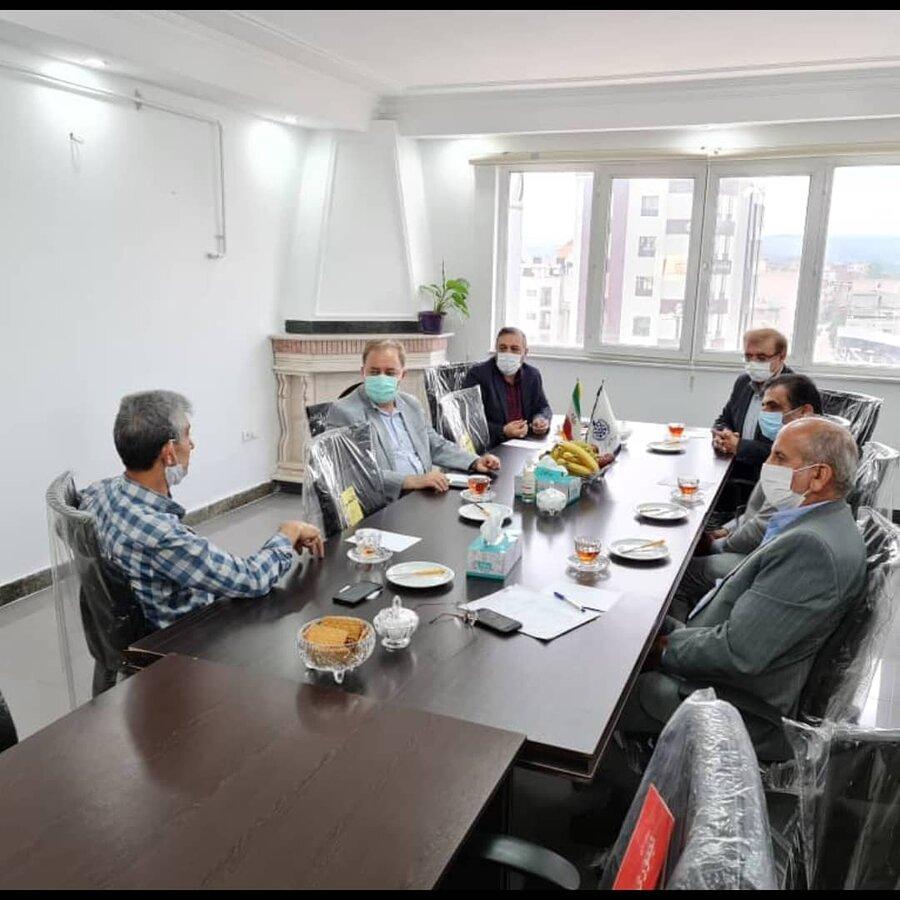 دیدار مدیرکل بهزیستی مازندران با هیات مدیره مجمع خیرین سلامت استان