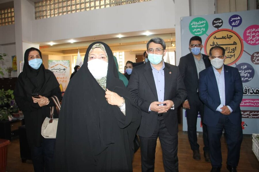 Vice President for Women Affairs paid a visit 3centers covered by SWO