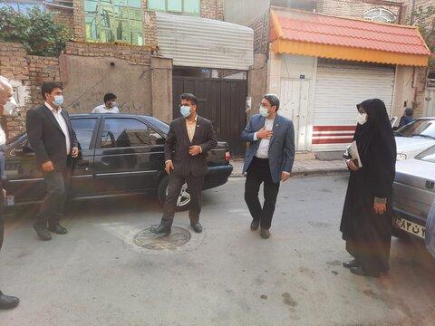 بازدید دکتر قبادی دانا از مراکز مثبت زندگی شهرستان مشهد