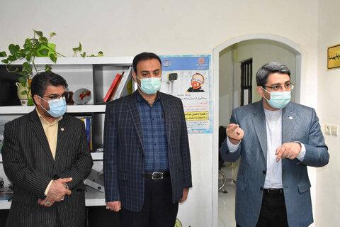 بازدید دکتر قبادی از مراکز مثبت زندگی شهرستان مشهد