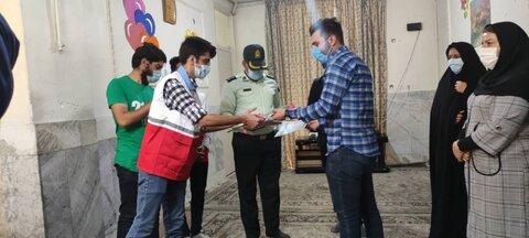 گزارش تصویری| شاهرود | بازدید معاون امور اجتماعی نیروی انتظامی شهرستان از مراکز شبه خانواده