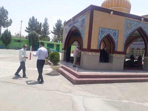 حضور اورژانس اجتماعی در مصلی نماز جمعه