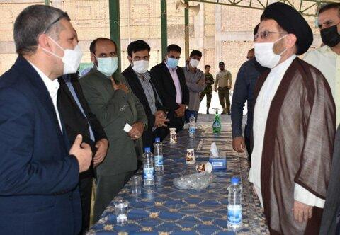 دیدار نماینده ولی فقیه، حجت الاسلام سید احمد رضا شاهرخی، با مدیر کل و معاونین بهزیستی