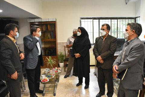 بازدید رئیس سازمان بهزیستی کشور از خانه کودکان خیابانی صدف مشهد