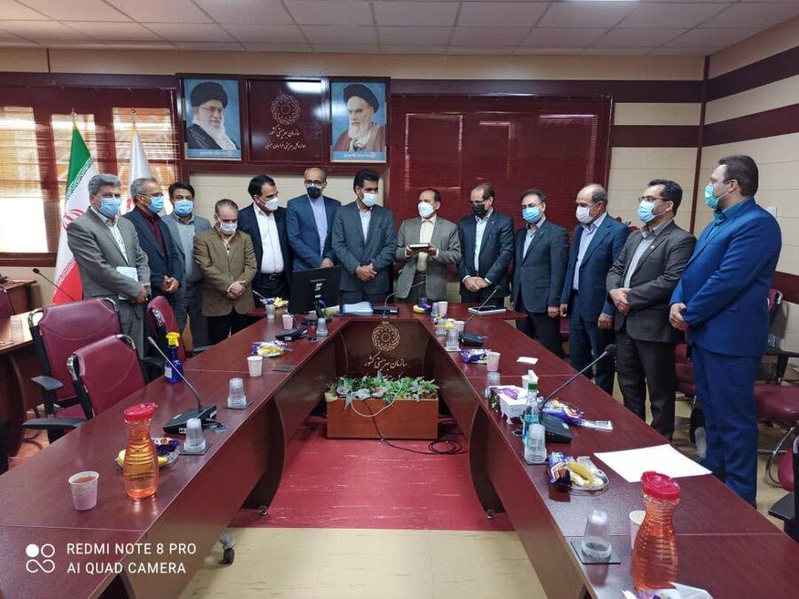 دیدار مدیران شورای هماهنگی دستگاههای تابعه ی رفاه با مدیرکل و معاونین بهزیستی خراسان جنوبی