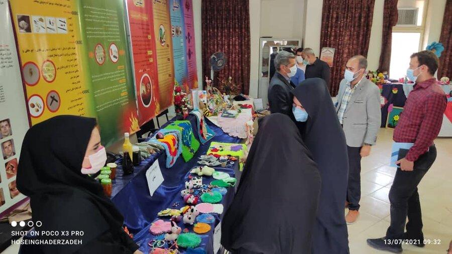اردستان| برگزاری نمایشگاه صنایع دستی