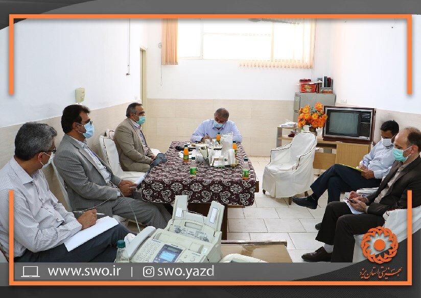 نماینده مجلس شورای اسلامی یزد از مرکز حمایتی تولیدی معلولین غدیر بازدید کرد
