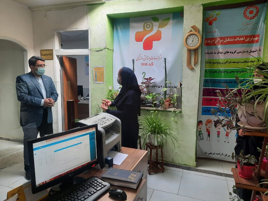 Head of SWO paid a visit from +life centers
