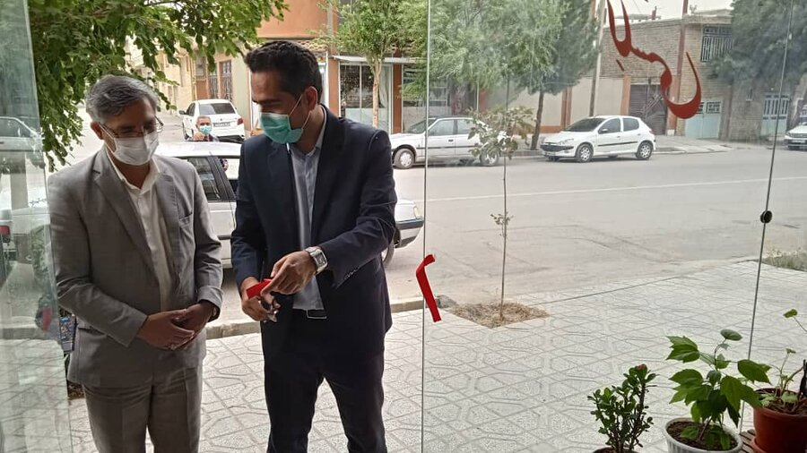 افتتاح طرح اشتغال زایی تواخواهان و مددجویان بهزیستی شیروان