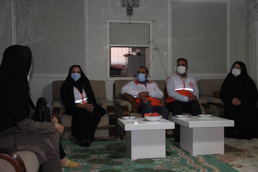 دیدار کشفی نژاد با زنان خودسرپرست تحت پوشش بهزیستی فارس